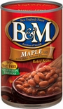 B&M Baked Beans with Maple Flavor 28 oz.