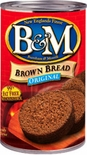 B & M Brown Bread Original (Plain) 16 oz.