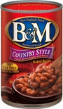 * B&M Country Style Baked Beans 28 oz.