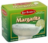 * Bar-Tender's Instant Margarita Cocktail Mix 3.3 oz. (2 Boxes)
