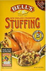 Bell's New England Style Stuffing with Cranberries14 oz.