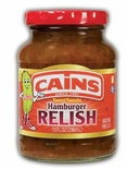 Cains Sweet Tomato Hamburger Relish 10 oz.