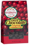 Cape Cod Cranberry Dark Chocolate Covered Cranberries 5 oz.