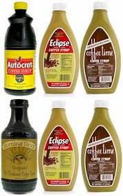* Coffee Syrup Variety Pack (6 Bottles)