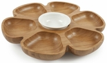 Core Bamboo Revolving Serving Platter