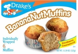 Drake's Banana-nut Muffins 6 ct. (2 Boxes)