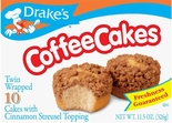 Drake's Coffee Cakes (2 Boxes)