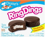 Drake's Ring Dings (2 Boxes)