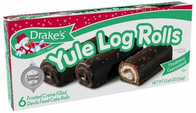 Drake's Limited Edition Yule Log Rolls (2 Boxes)