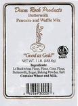 Drum Rock Products Buttermilk Pancake & Waffle Mix 1 lb.