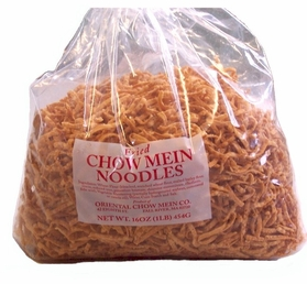 Fried Chow Mein Noodles 1-LB Bag by Oriental Chow Mein Co.