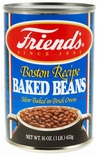 Friend's Boston Recipe Baked Beans