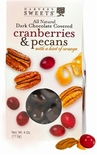 Harvest Sweets Dark Chocolate Covered Cranberry Orange & Pecans 4 oz.