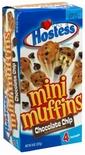Hostess Mini Muffins Chocolate Chip (2 Boxes)