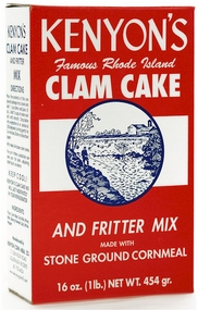 Kenyon's Clam Cake & Fritter Mix 1 Lb.
