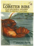 Lobster Bibs Set of 4