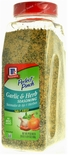 * McCormick Perfect Pinch Garlic & Herb Seasoning Blend, Salt-Free 20 oz.