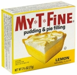 My-T-Fine Lemon Pudding & Pie Filling 2.75 oz. (4 Boxes)