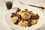 Nantucket Pasta Goddess Gluten Free Mushroom and Goat Cheese Ravioli 12 oz.