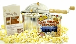 Old Fashioned Popcorn Popper & Supplies