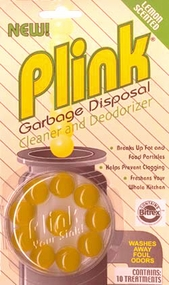Plink Garbage Disposal Cleaner and Deodorizer