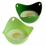 Poachpod - Silicone Egg Cooking Tool (Set of 2)
