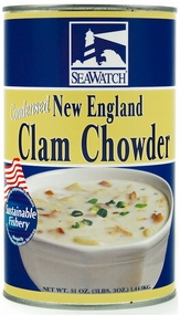 Seawatch New England Style Clam Chowder Condensed 51 oz.