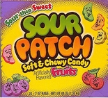 Sour Patch Fruits Candy (24 - 2 oz. Bags) 48 oz. (1506197)