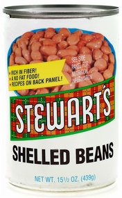 Stewart's Shelled Beans 15 1/2 oz.