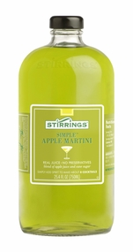 Stirrings Apple Martini Cocktail Mixer - 750ml