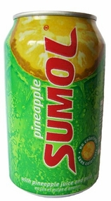 Sumol Pineapple Case of 24/12 oz. Cans