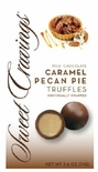 Sweet Cravings Caramel Pecan Pie Milk Chocolate Truffles 2.6 oz.