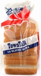 TownTalk Hot Dog Buns, Sliced 18 oz. (New England Style)