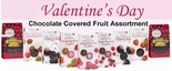 Valentine's Day Chocolate Covered Fruit Assortment (9 Boxes)