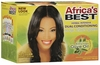 Africa's Best No-Lye Relaxer Kit Regular 12 PCS CH111701