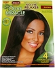 African Pride No-Lye Kit Touch 4APP Regular 4 PCS AP40004