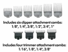 Andis Barber Combo Clipper/Trimmer Kit 66325