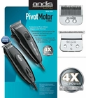 Andis Black Pivot Motor Clipper/Trimmer Combo 24075