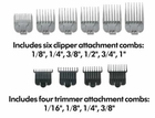 Andis Stylist Combo Clipper/Trimmer Kit 66280