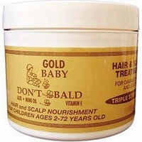 Baby Dont Be Bald Gold