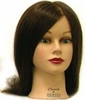Hairart Elite Mannequin Head Chantal Dark Brown 4355DB