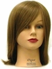 Hairart Elite Mannequin Chantal Medium Brown Hair 4355MB