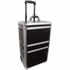 City Lights 3-Tier Lockable Case on Wheels ATC8000