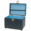 City Lights Large Duratex Train Case 616-BK