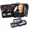 City Lights Studio Pro Deluxe Travel Case On Wheels NY802-BK