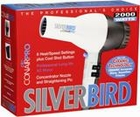 Conair Silver Bird 2000 Watts Ceramic Hair Dryer SB307
