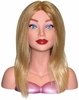 Courtney By Hairart Blond Hair Mannequin Head 4309B