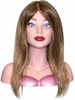 Hairart Elite Mannequin Head Courtney Light Brown 4309LB