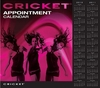 Cricket 4 Column Appointment Book 130pg 5516127