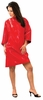 Cricket Rebel Cape Shiny Red 5512096